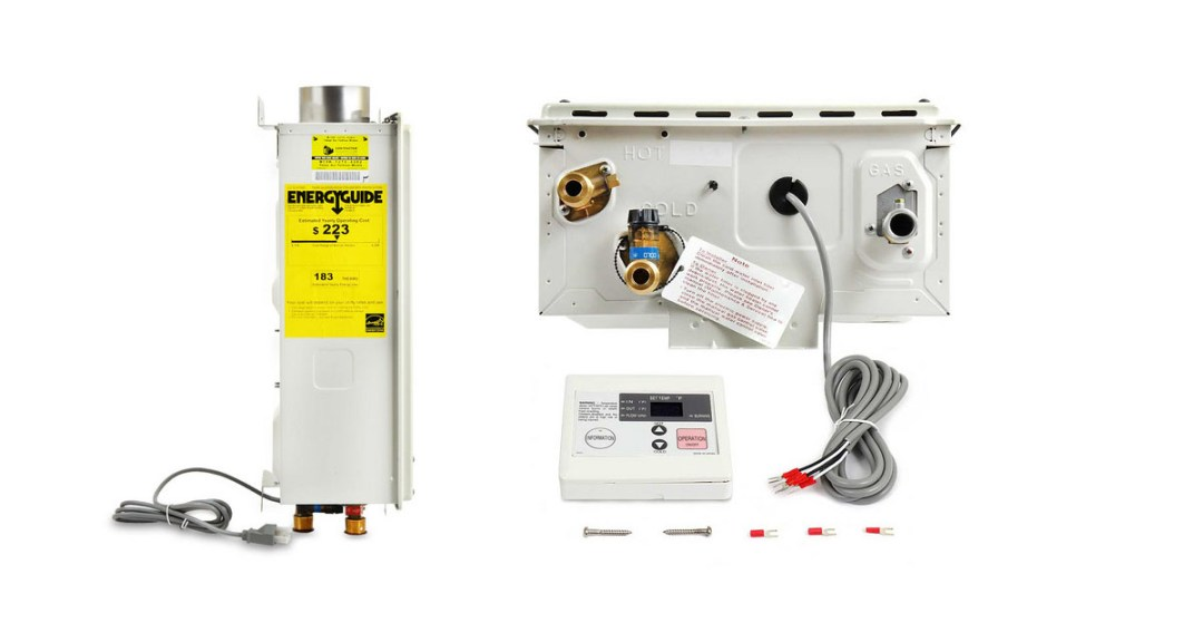 Takagi T-KJr2-IN-NG Indoor Tankless Water Heater Gold Pick
