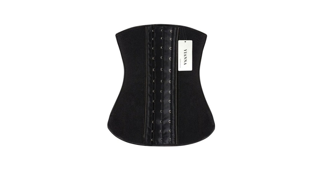 YIANNA Women's Latex Sport Girdle Waist Training Corset