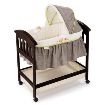 Summer Infant Classic Comfort Wood Co-Sleeper Bassinet