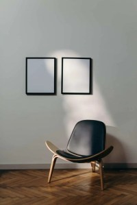 chair and mirrors