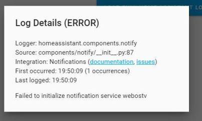webostv error