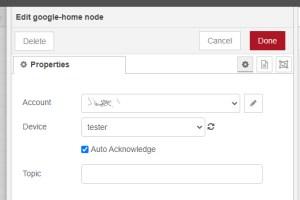 google home tester