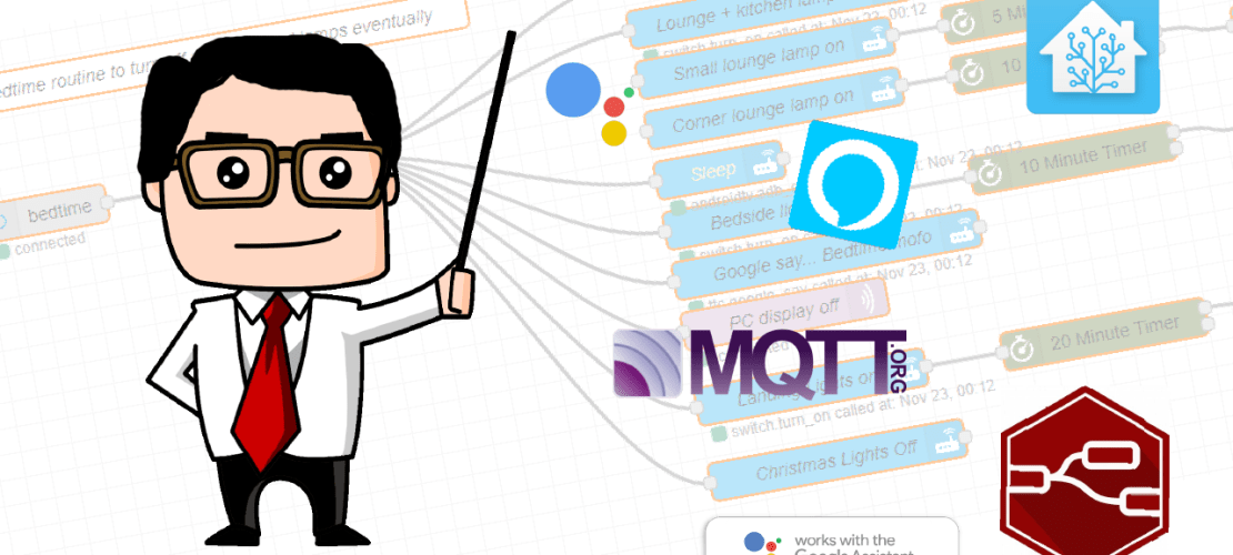 The Beginner's Guide to Node-red with Home-Assistant (Part 1: MQTT)