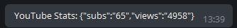 Combined Telegram Output