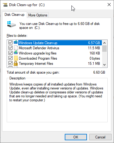Clean Up System Files