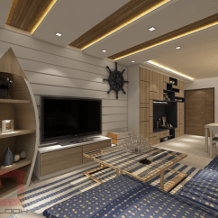 Nautical Themed Living Room Ideas Beautiful Simple 6 Stunning Hdb Flats That Prove Every Singaporean Can ...