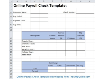 Want to learn how to do payroll in excel? Free Payroll Templates Listed With Downloads Available