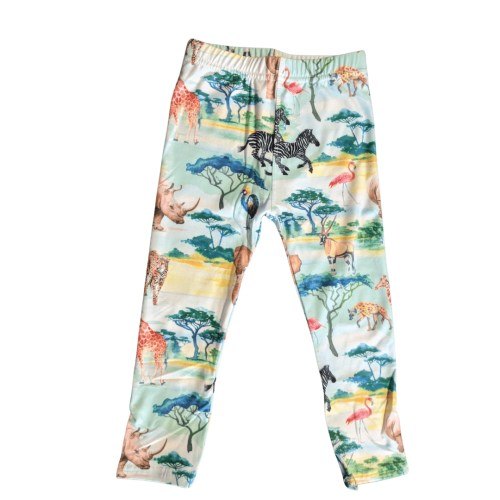 African Safari Printed Toddler2 Leggings