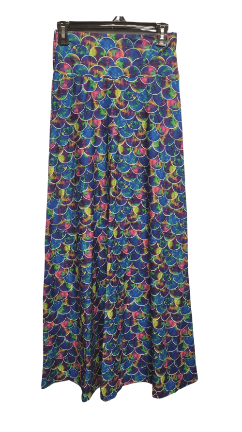 Mystic Scale Printed Maxi Skirt