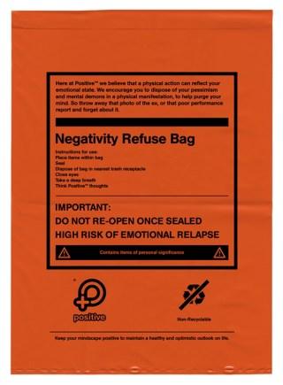 bolsa de rechazo negativo