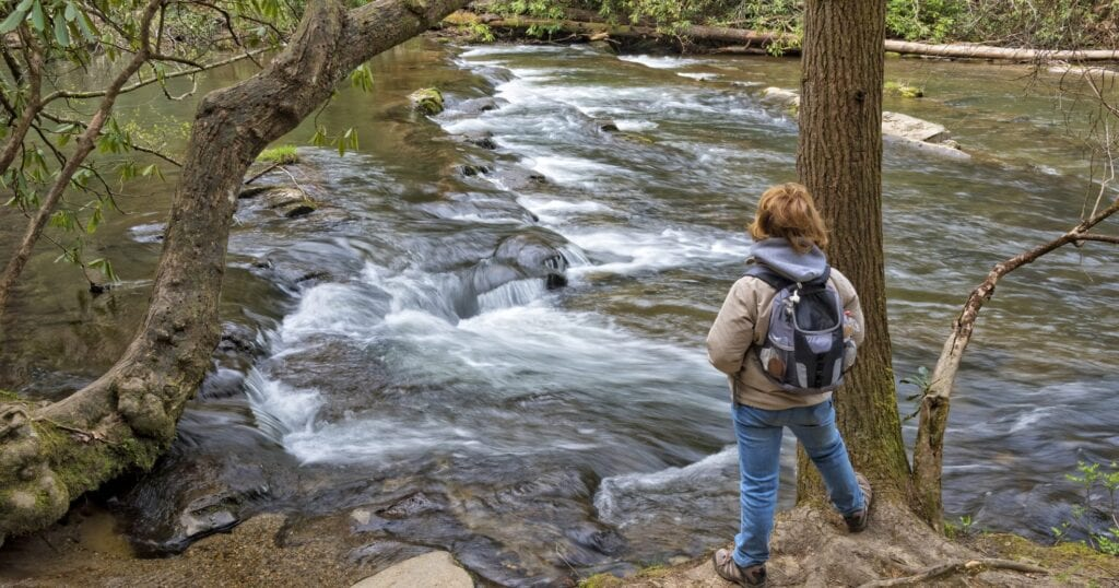 Abrams Creek and Abrams Falls are among the most popular destinations in Cades Cove (stock photo)