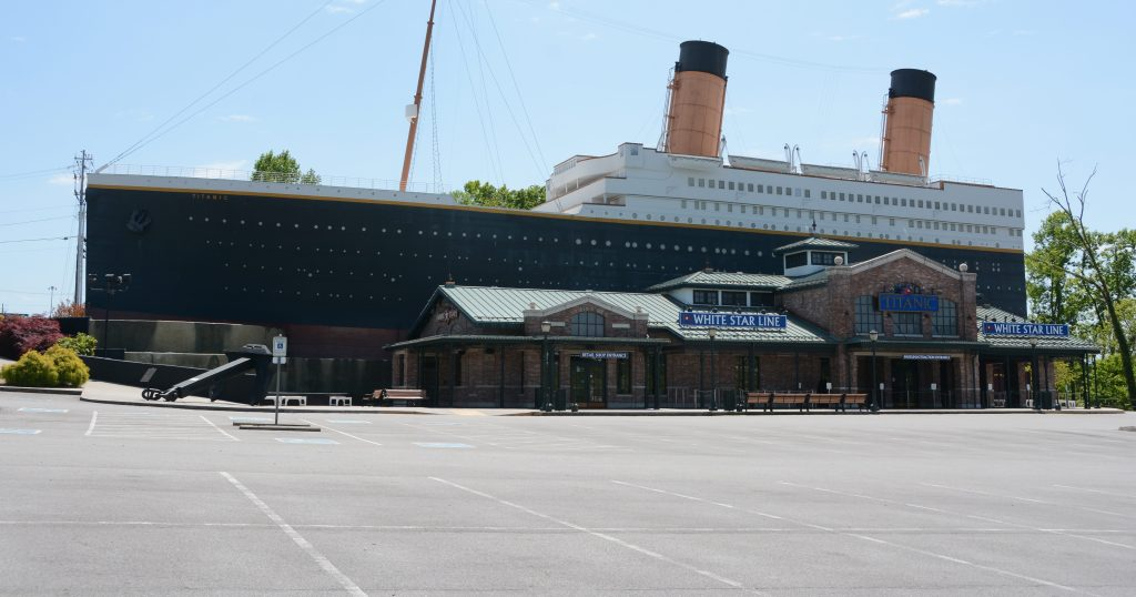 The Titanic Museum Pigeon Forge
