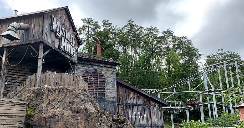 Best Rides at Dollywood - Mystery Mine