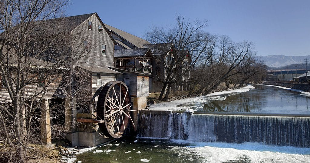 The Old Mill features shops, restaurants and plenty of sightseeing opportunities (stock photo)