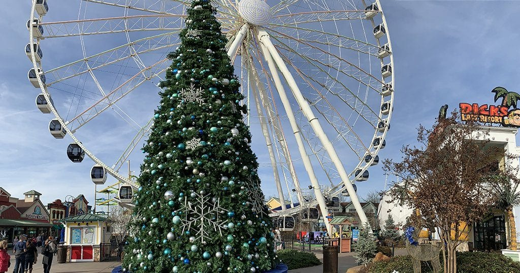 The Island in Pigeon Forge is open year round including Christmas Day, New Year's Eve and New Year's Day (individual store hours may vary) (photo by Morgan Overholt/TheSmokies.com)