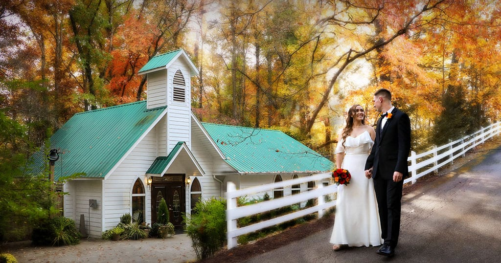 Chapel at the Park was the sister location of the old Cupid's Chapel in downtown Gatlinburg (photo courtesy of Chapel at the Park)