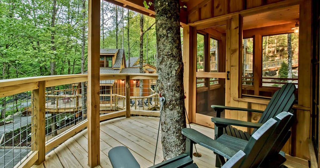 The Willow in Treehouse Grove at Norton Creek