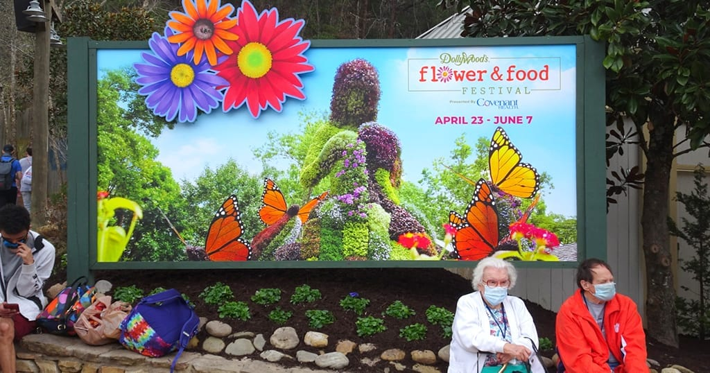 While the Festival of Nation is on hiatus, the Flower and Food Festival is scheduled to return for the 2021 season (photo by Daniel Munson/TheSmokies.com)