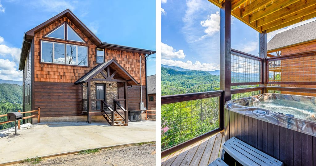 There's more to Bear Tracts than meets the eye. This cabin doesn't just include beautiful views and luxury amenities –it also includes free attraction tickets. (photos courtesy of Bear Tracts/VRBO)