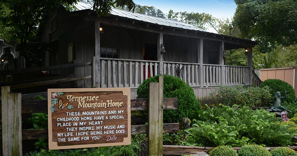 Dolly Parton's Tennessee Mountain Home