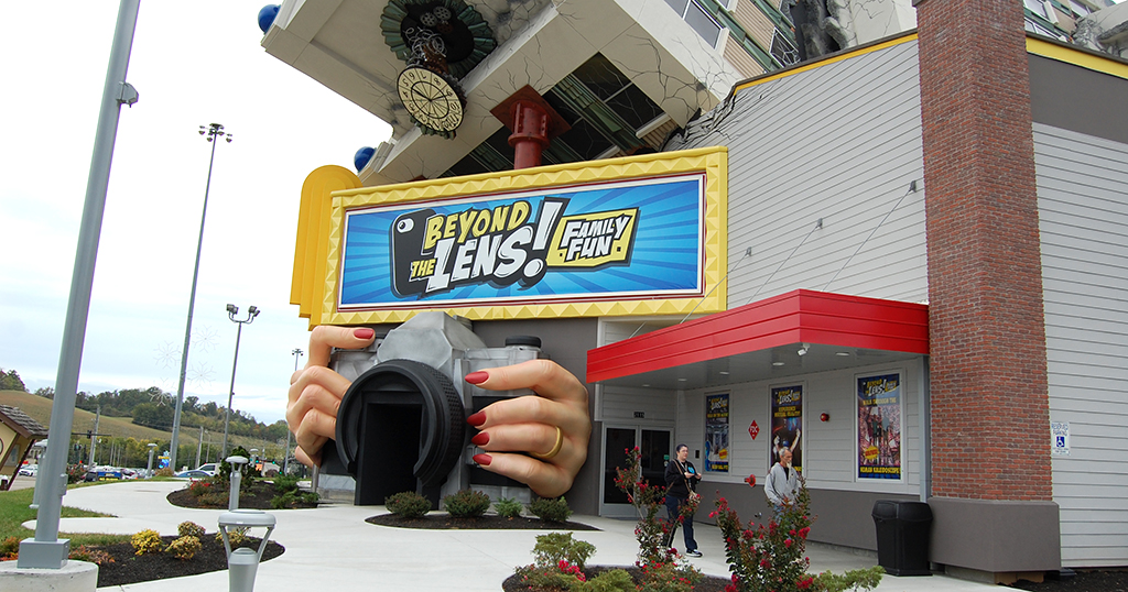 Beyond the Lens is one of the most popular walk-through attractions on the Parkway (photo by Alaina O'Neal/TheSmokies.com)