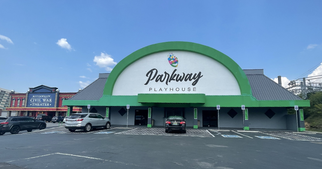 The Parkway Playhouse in Pigeon Forge