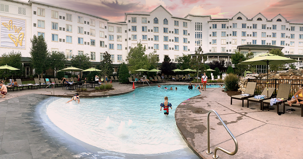 DreamMore's outdoor pool