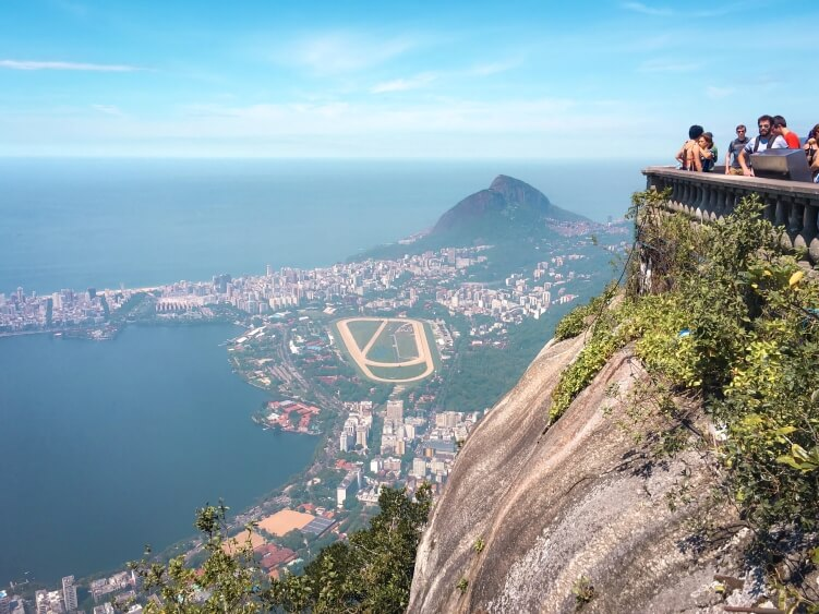 One of the best things to do in Rio de Janeiro is to visit the Christ the Redeemer statue and enjoy spectacular views over the city