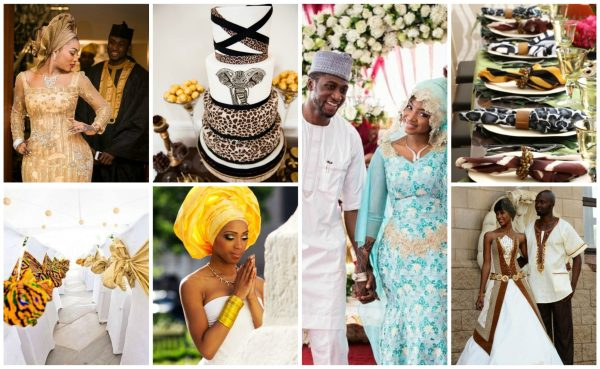 African weddings Collage