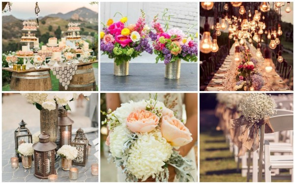 The Main Characteristic of Rustic Chic Collage