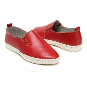Sewing Leather Flat Loafers Online