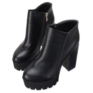 Ankle Chunky Heel Boots Online