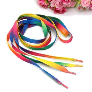 Rainbow Multi Colors Shoelaces Online