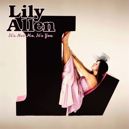 Lily Allen It's Not Me It's You album cover image.
