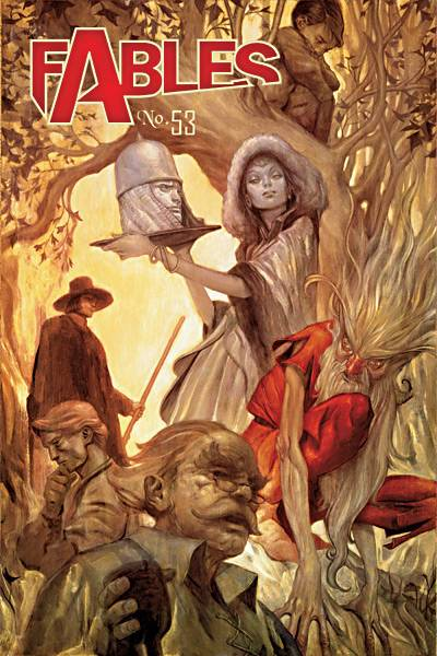 Fables comic cover image