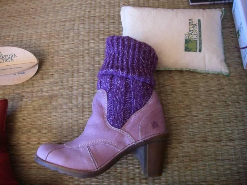Purple boot