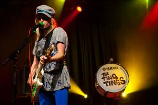 Katie White with the Ting Tings in Vancouver