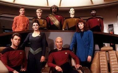 Main cast of Star Trek The Next Generation