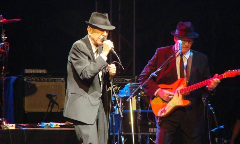 Leonard Cohen at the Coachella Music & Arts Festival April 17 2009