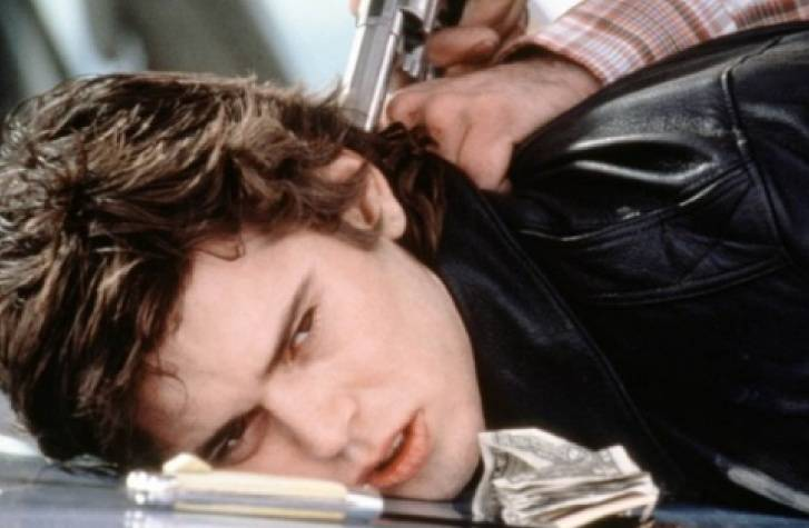 C. Thomas Howell in The Hitcher (1986) movie image