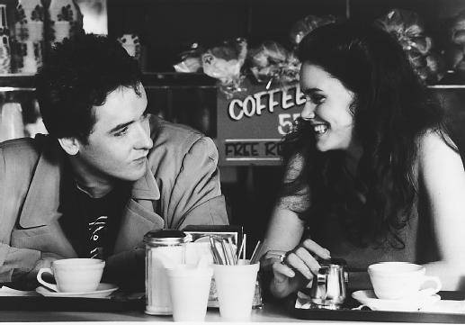 John Cusack and Ione Skye in Say Anything movie image