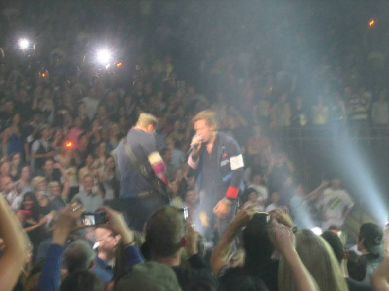 Coldplay at GM Place, June 20 2009 photo