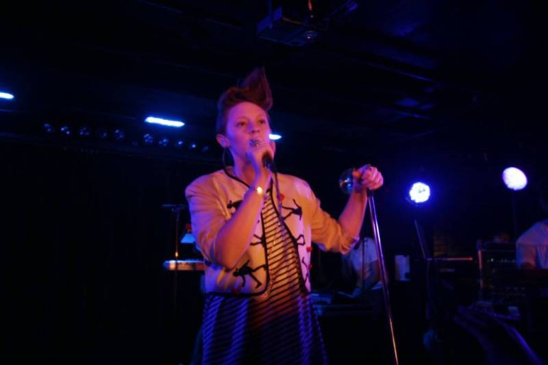 La Roux at the Biltmore Cabaret photo