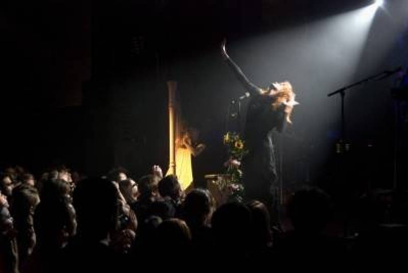 Florence and the Machine at the Mod Club, Nov 2 2009. Amber Anne Dawkins photo