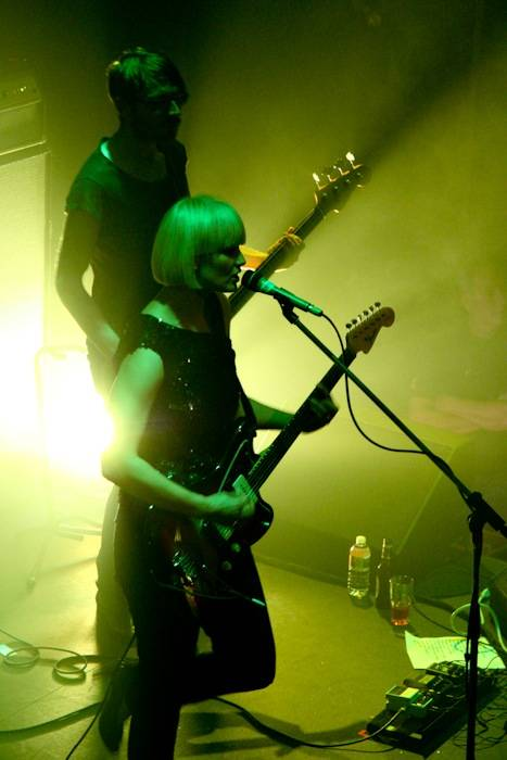 Sharin Foo with The Raveonettes concert photo