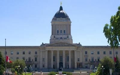 The Manitoba Legislative Building.