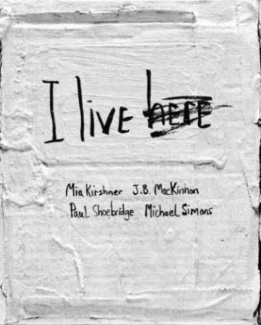 I Live Here Mia Kirshner book cover