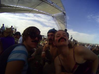 Random people at Coachella 2010