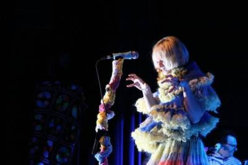 Sia at the Commodore Ballroom, April 10 2010. Robyn Hanson photo