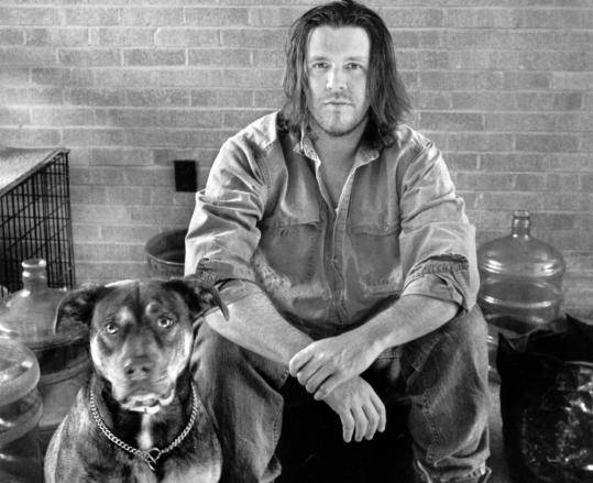 David Foster Wallace author photo by Marion Ettlinger